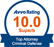 AVVO Rating Criminal Defense