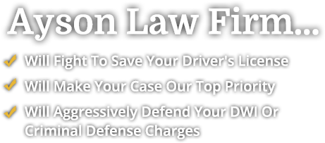 Will Fight To save Your Driver's License